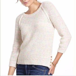 Anthropologie Moth Space Dye Wool Acrylic Sweater
